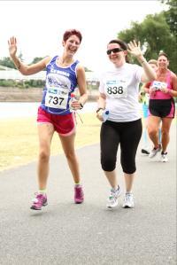 Women's Running 10k Nottingham 2013
