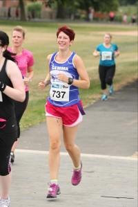 Women's Running Nottingham 10k, July 2013