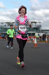 Silverstone Half Marathon 2013