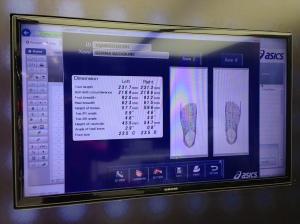 Feet stats